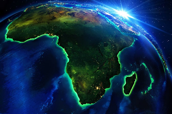 South Africa from Space